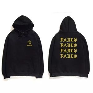 Other - I Feel Like Pablo - Gold & Black Hoodie - New -